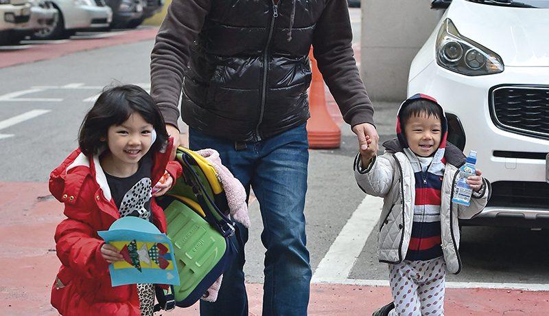 Etelä-Korea: Kyllä isä hoitaa