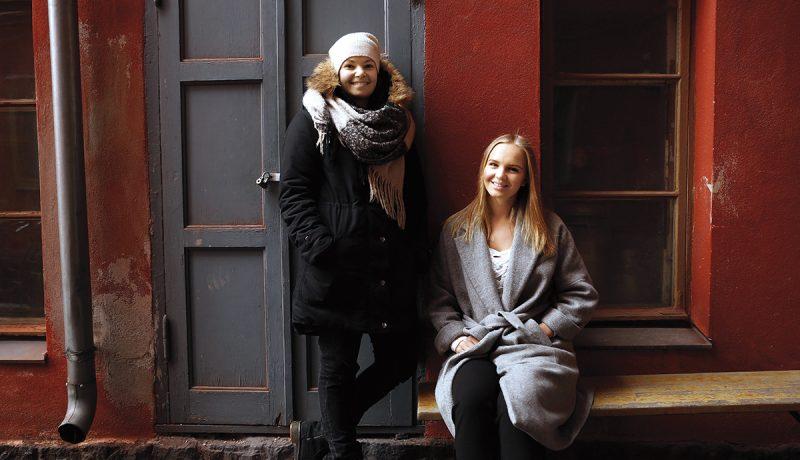 Venäjällä syntyneet ja Suomessa asuvat Vera ja Kristina