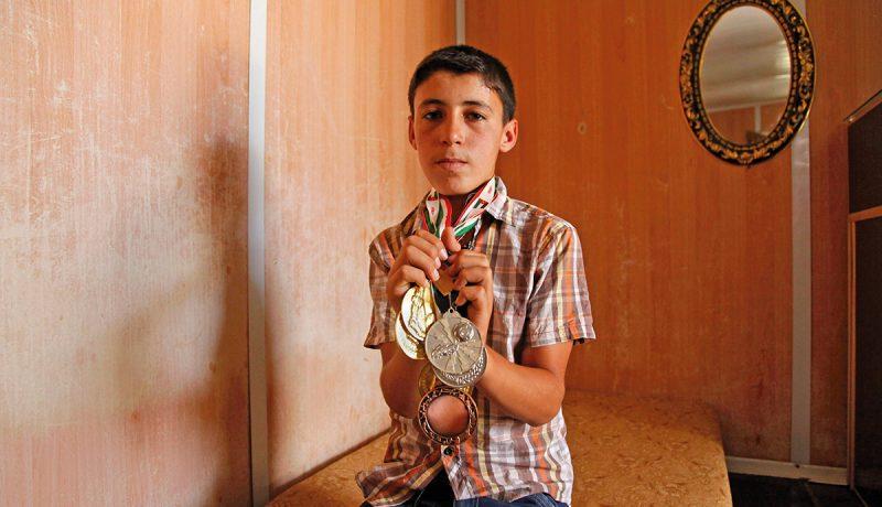 Jordania: Mitalisadetta pakolaisleirillä