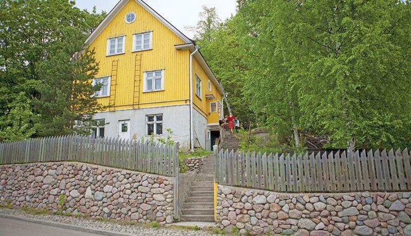 Keltaisen talon hipit