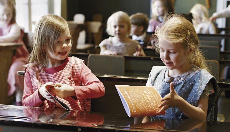 Koulumuistoja museoissa