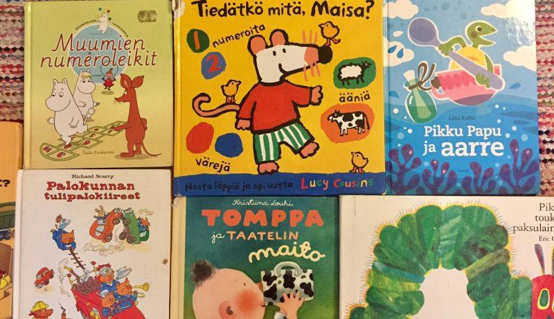 Kirjoja 1-vuotiaalle