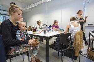 MiB on sellaisten äitien henkireikä, jotka haluavat puhua lasten unirytmien lisäksi urahaaveistaan.
