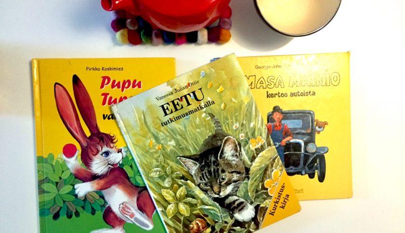 Kirjoja 2-vuotiaalle