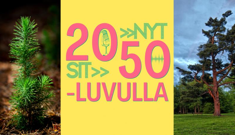 Miltä maailma näyttää 2050-luvulla? Kuuntele nuorten podcastia!