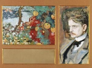 Sibeliuksen sävelruno Satu (1892) inspiroi Akseli Gallen-Kallelan maalaamaan samannimisen teoksen. Ainolasäätiö. Kuva Kansallisgalleria / Hannu Pakarinen
