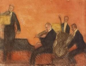 Magnus Enckell: Musiikkia, 1906. Ateneumin taidemuseo. Kuva Kansallisgalleria / Yehia Eweis