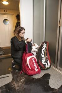 Vakava urheiluharrastus vaatii taustalleen aika tavallista elämää, Anne Kallio sanoo.