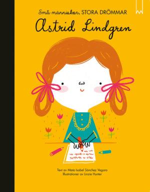 Astrid Lindgren -kirjan kansi