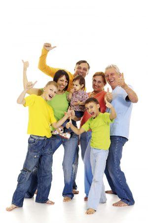 Ekstrovertillä on enemmän lapsia. Ulospäinsuuntautuneella on iso perhe.