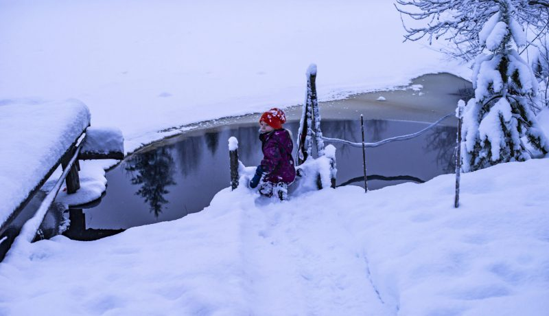 Kuiva, lämmin ja valkoinen, – pieniä suuria ihmeitä Suomessa