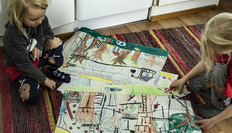 Valintoja joita ei kannata katua –  ajanjakso lasten kanssa kotona