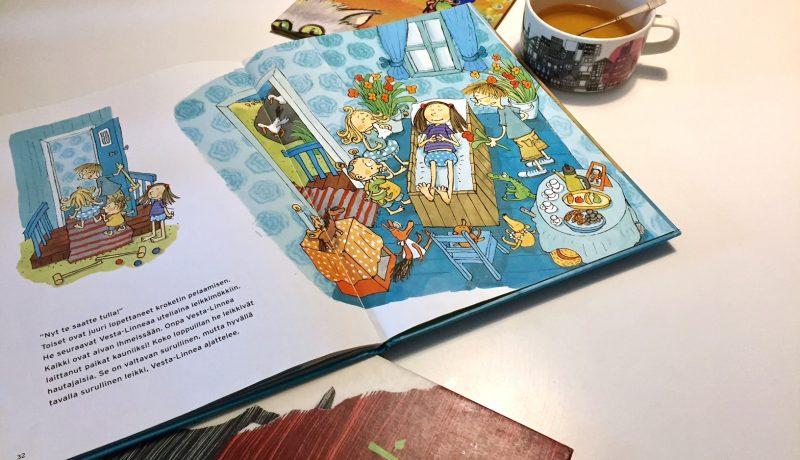 Lastenkirjoja kuolemasta