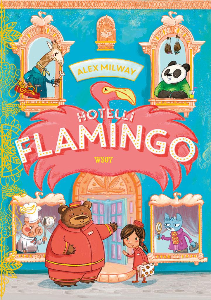 Hotelli Flamingo -kirjan kansi.
