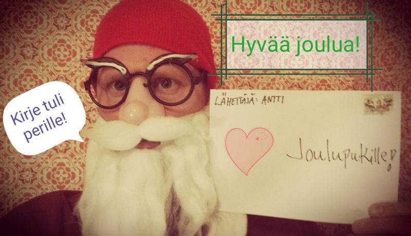 Avoin kirje joulupukille
