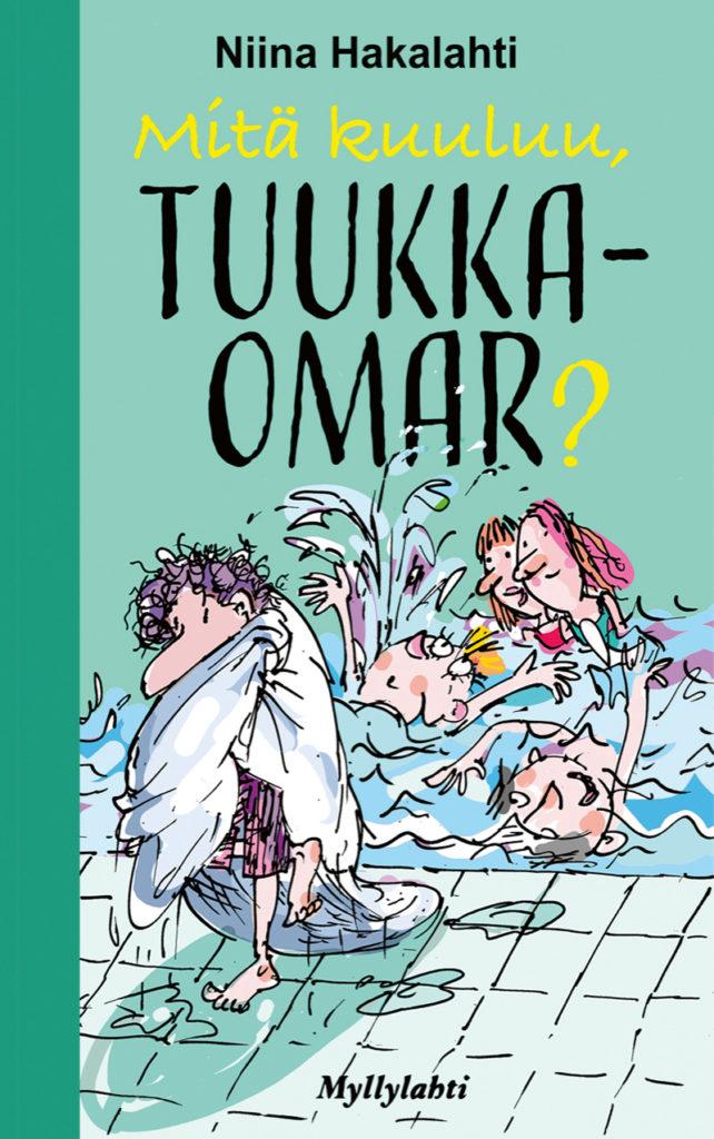Mitä kuuluu Tuukka-Omar? -kirjan kansi.