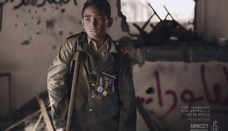 Syyria: Maailman nuorin sotaveteraani