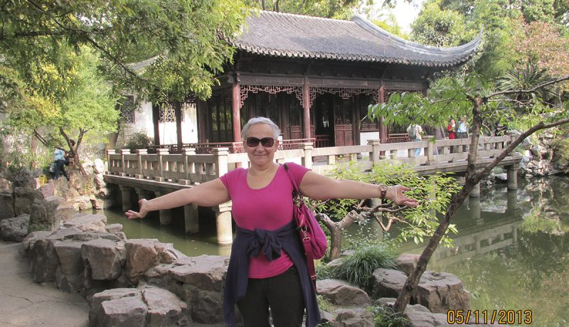 Au pair -mummina Shanghaissa