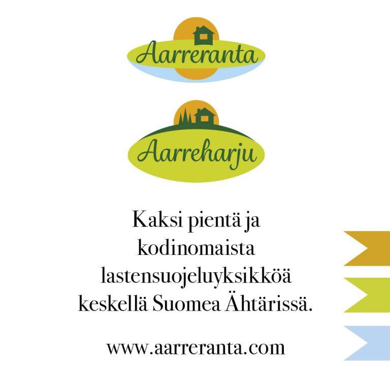 Aarreranta ja Aarreharju. Kaksi Kaksi pientä ja kodinomaista lastensuojeluyksikköä keskellä Suomea. www.aarreranta.com