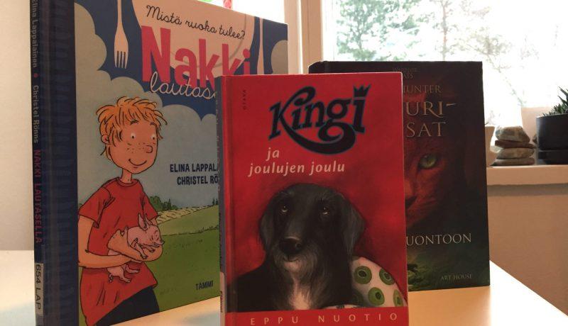 Eläinkirjoja pikkukoululaisille
