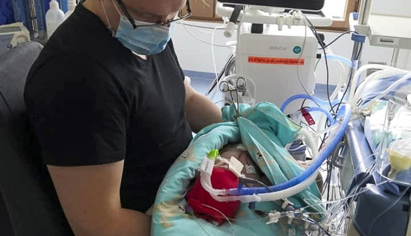 Puolen sydämen lapsi  Osa 2. Sairaala