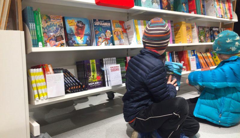 Mitä kirjoja lapset toivovat joululahjaksi?