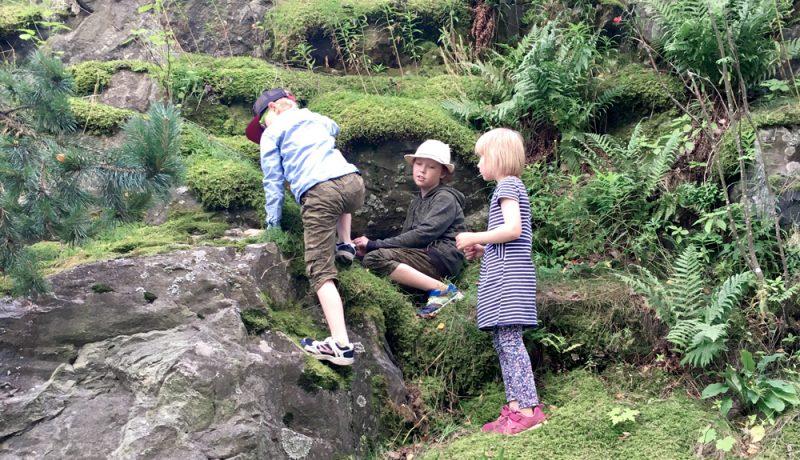 Lapset 7-12 vuotta – isyyden välirauhan aika