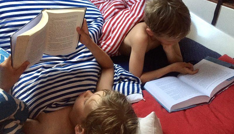 Mitä koululaiset lukevat?