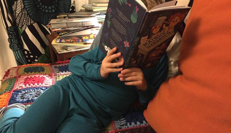Viisivuotiaan kirja-arvio