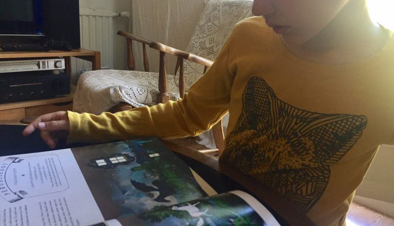 Lapsi, joka oppi lukemaan kirjoittamalla