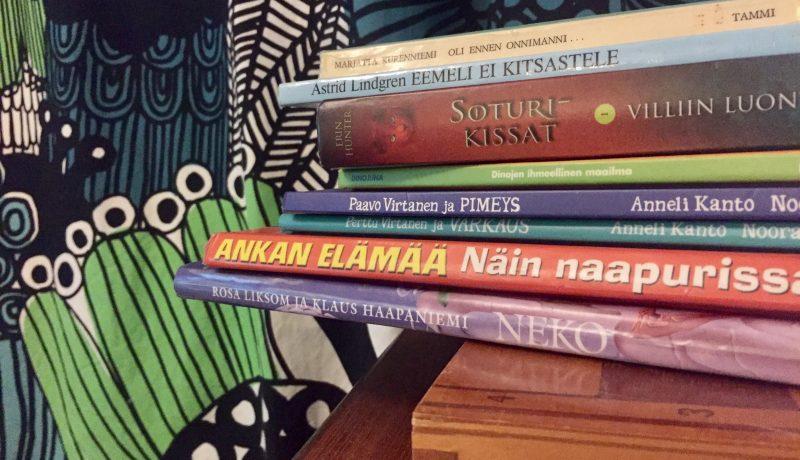 Minkä kirjan lapsi itse valitsee?