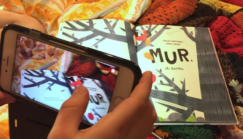 Erilainen karhu – lisättyä todellisuutta lastenkirjoissa