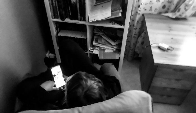 Missä luetaan iltakirjaa sitten kun on omat huoneet?