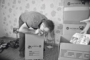 Ranskalainen Gilles Panter on tottunut pakkaamaan. Raumallakin koti vaihtui kolmeen kertaan.