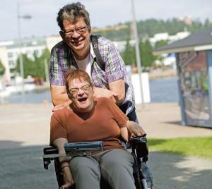 Timo ja Satu Rautiainen ovat olleet tiivis parivaljakko Satun syntymästä asti. Nykyisin he näkevät toisiaan ainakin kerran viikossa.