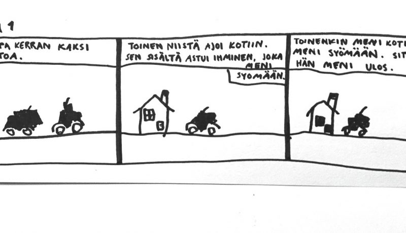 Lapset sarjakuvapiirtäjinä