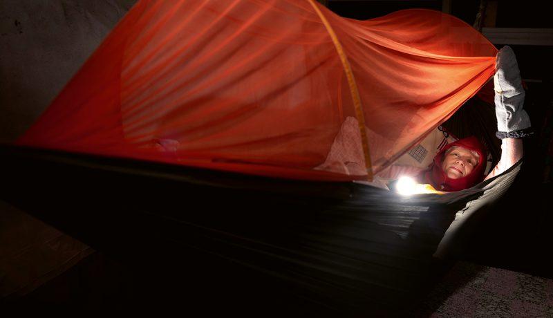 Sirkka, ulkona nukkunut
