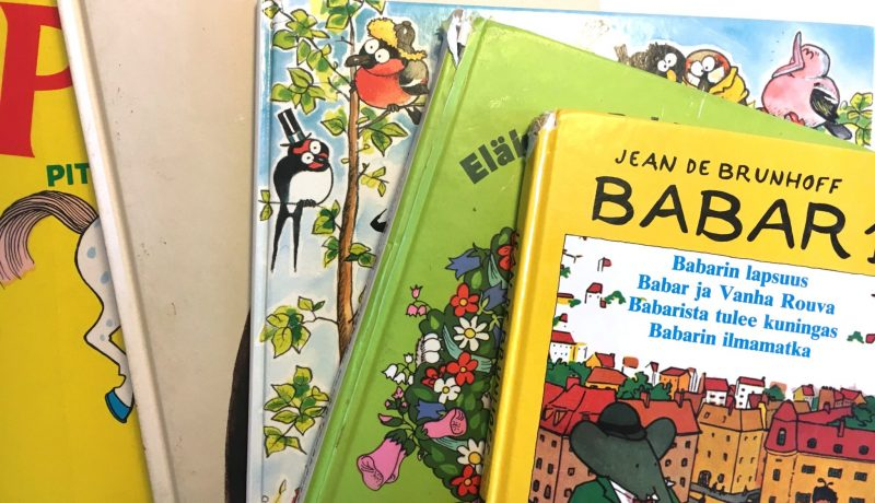 Väkivaltaa lasten kirjahyllyssä