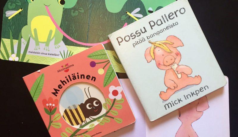 Kirja-aarteita vauvalle