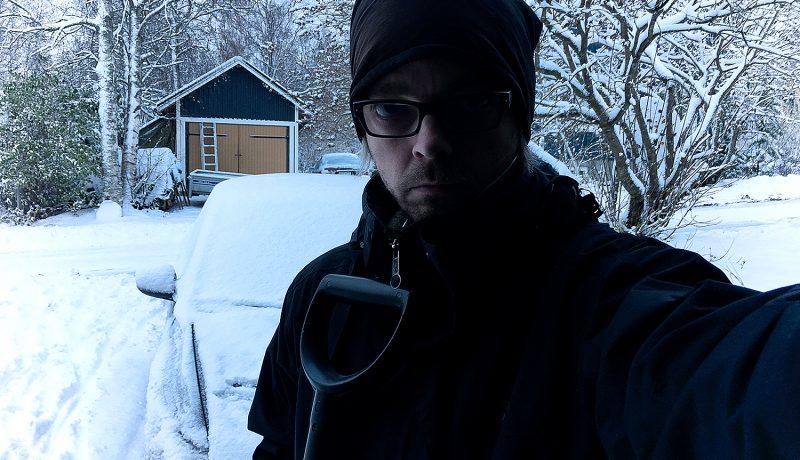 Lumi tuo mukanaan vähän liikaa työtä